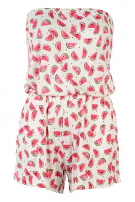 Watermelon playsuit kombinezonas