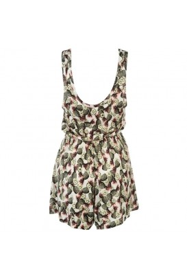 Pineapple playsuit kombinezonas