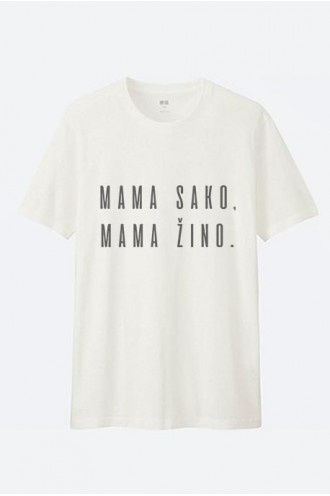 Mot. marškinėliai mama sako mama žino