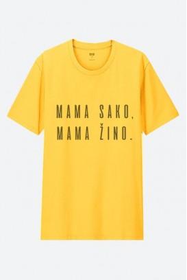 Cotton marškinėliai MAMA SAKO MAMA ŽINO