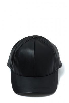 Leather baseball kepurė