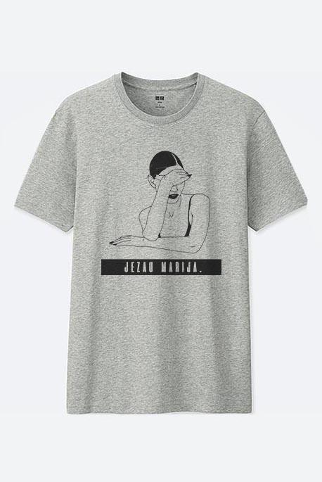 Cotton marškinėliai jezau marija