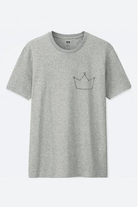 Cotton marškinėliai karūna
