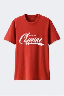 Cotton marškinėliai Caffeine