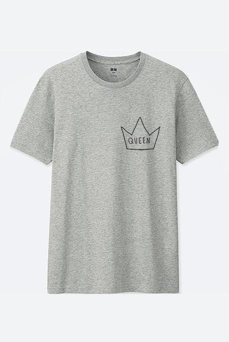 Mot. marškinėliai queen