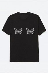 Mot. marškinėliai Butterflies