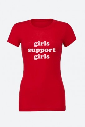 Cotton marškinėliai girls support girls