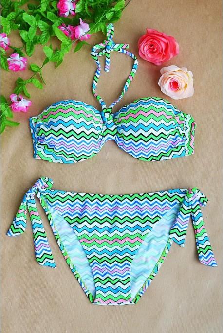 2 dalių Aztec maudymosi kostiumėlis