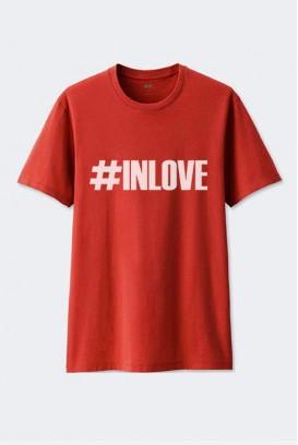 VYR. MARŠKINĖLIAI #IN LOVE