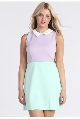 Pastelinė Collar suknelė