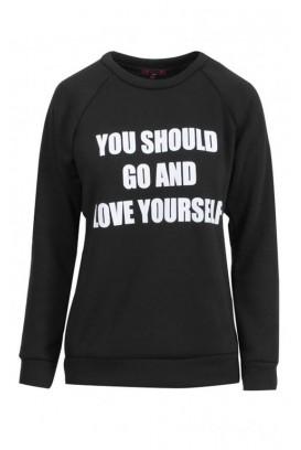 Mot. džemperis Go Love yourself