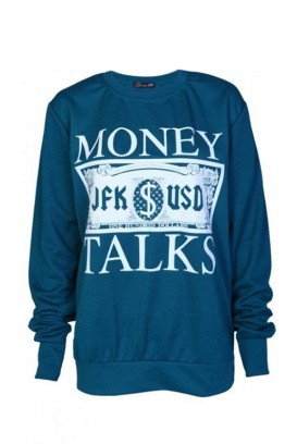 Mot. džemperis Money talks