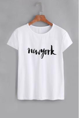 Mot. New York marškinėliai