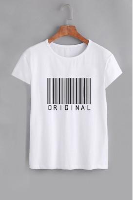 Mot. marškinėliai barcode original