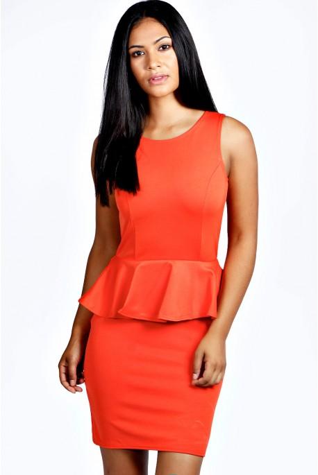 Nikki Peplum suknelė
