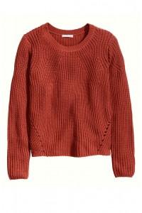H&M Rib-Knit megztinis