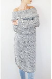 Chunky Knit megztinis-suknelė