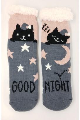 Cat Lover kojinės-tapkės (ABS)
