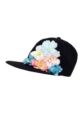 Full Cap Flower kepurė