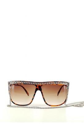Oversize chain akiniai nuo saulės