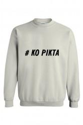 Oversize džemperis Ko pikta