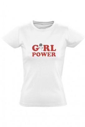 Mot. marškinėliai girl power