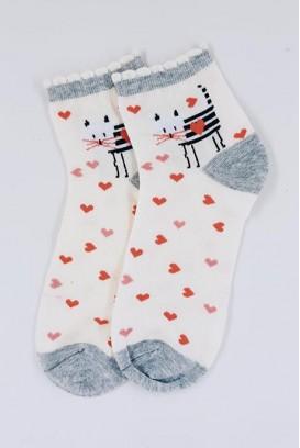 Lovely Kitty kojinės
