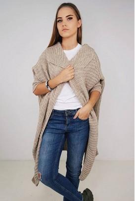 Oversized Knit kardiganas