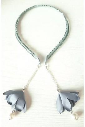 Flower Pearl plaukų lankelis