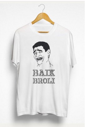 Vyr. marškinėliai baik broli