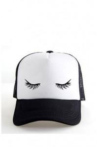 Trucker kepurė (blakstienos)