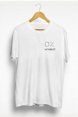 Mot. marškinėliai 0% interests