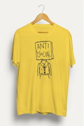Mot. marškinėliai Anti-social