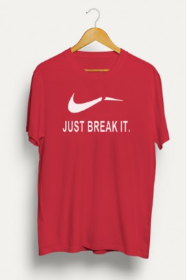 Mot. marškinėliai JUST BREAK IT
