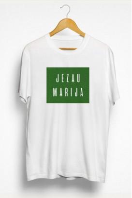 Vyr. marškinėliai JEZAU MARIJA