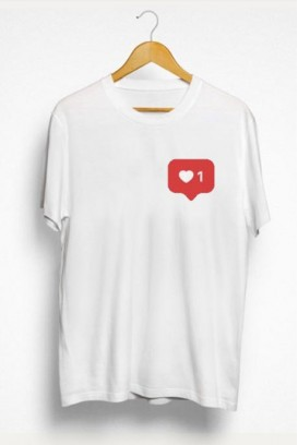 Mot. marškinėliai 1 love