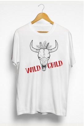 Mot. marškinėliai Wild Child