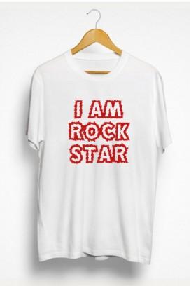 Mot. marškinėliai ROCK STAR