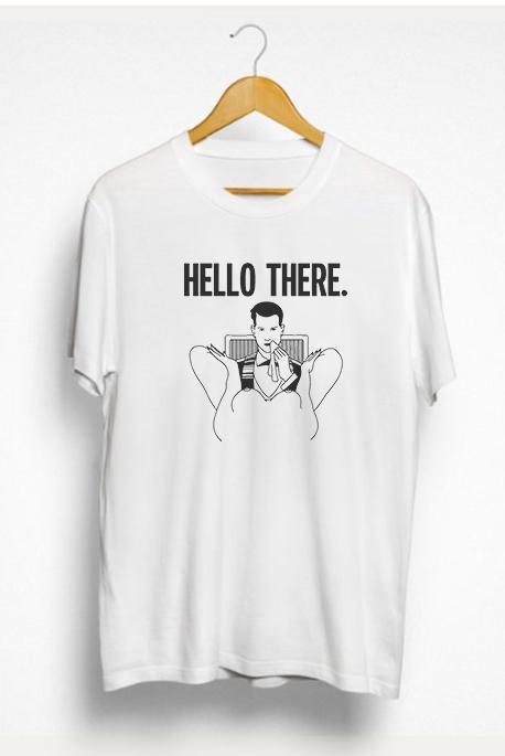 Vyr. marškinėliai Hello there