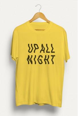 Vyr. marškinėliai Up all night
