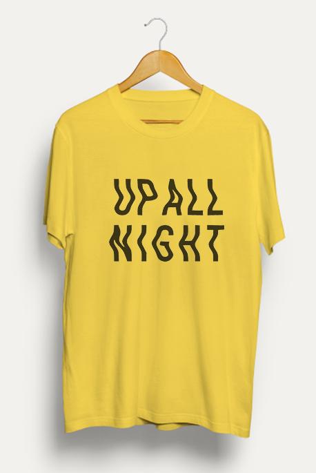 Mot. marškinėliai Up all night