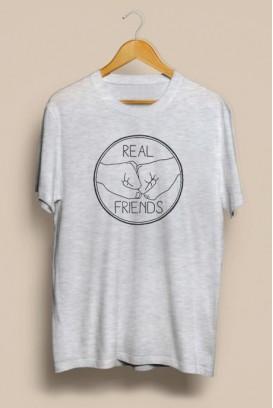 Mot. marškinėliai real friends