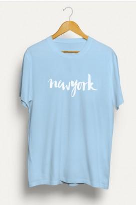 Mot. marškinėliai New York