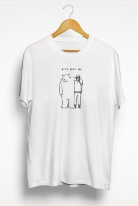 Vyr. marškinėliai BEAR WITH ME