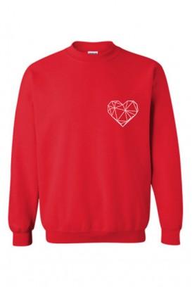 Geometric Heart džemperis