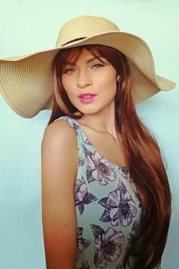 Panama skrybėlė su šniūrėliu