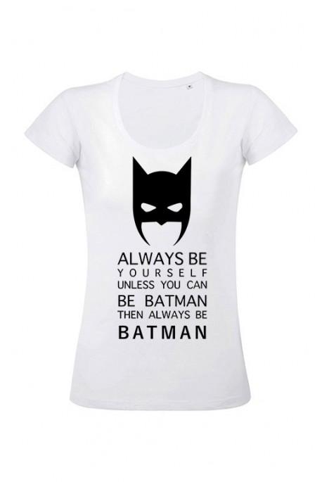 Mot. marškinėliai Batman