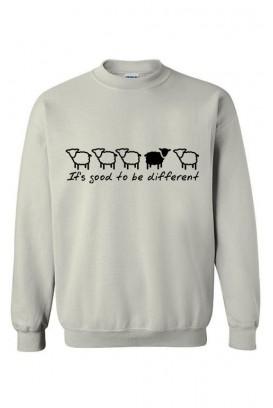 Unisex džemperis Be different