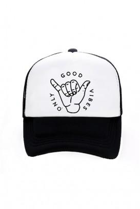 Trucker kepurė (GOOD VIBES ONLY)