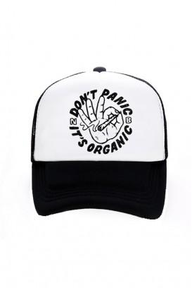 Trucker kepurė (Don't panic it's organic)
